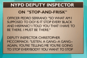 The secretly-recorded NYPD stop-and-frisk...