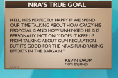 NRA presser a media ploy?