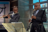 The McGill brothers perform live