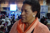 Myrlie Evers-Williams reacts to VRA,...