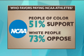 What's at stake for college athletes?
