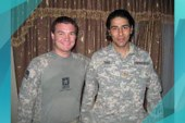 Soldier reunites with Afghan protector
