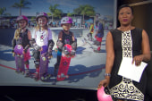 Pink Helmet Posse inspires young girls