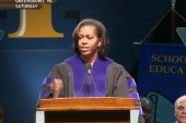 Commencement speeches set tone on marriage...