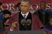 President Obama's unscripted moment with...