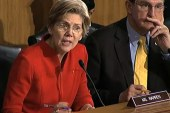 Warren comes out swinging at first banking...