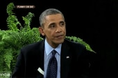 Obama stuck between a fern and a hard place?