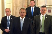 How John Boehner is clinging to his job