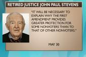 Fmr. Justice Stevens criticizes Citizens...