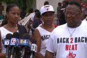 Members of Trayvon Martin family speak out