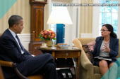Pres. Obama talks race with Melissa Harris...