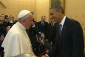 Pres. Obama and Pope Francis finally meet