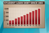 As student loan interest rates  rise, one...
