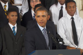 Obama brings youth's issues to the surface