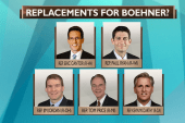 Who could replace John Boehner?