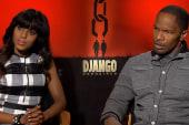 Kerry Washington, Jamie Foxx on 'Django...