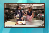 FLOTUS in the kitchen with Richard Sherman