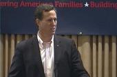 Female voters shift support to Santorum