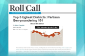 Gerrymandered district lines shut out...