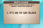 MHP's guide for 'how white people can talk...