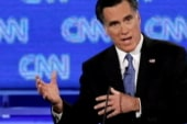 An aggressive Romney tries to stop...