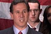 Santorum exits the GOP race