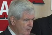 Is the Gingrich campaign all but finished?