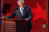 Was Romney overshadowed by Eastwood at the...