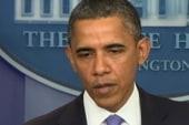 Obama reprimands the GOP