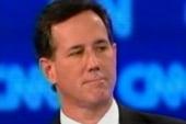 Romney, Santorum spar over Massachusetts...