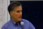 Romney's position on global warming