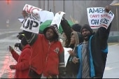 Fast food workers protest poverty-level wages