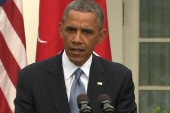 Obama tries 'to separate issues in an...
