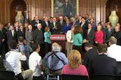 GOP votes to defund Obamacare