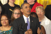Obama: 'When women succeed, America succeeds'