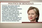 Clinton memoir excerpts focus on Benghazi