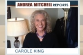 Carole King's message to Andrea Mitchell
