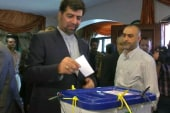 High voter turnout in Iranian election