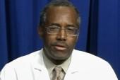 GOP rising star Dr. Ben Carson defends...
