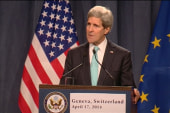 Kerry: Urgent task to de-escalate in Ukraine