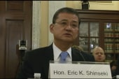 Shinseki avoids topic of resignation