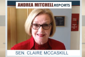 Claire McCaskill's message to Andrea Mitchell