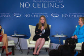 Chelsea Clinton steals the spotlight