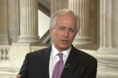 Corker: I'm disappointed in Russia sanctions