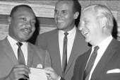 Belafonte: The march was a 'sigh of relief...