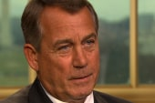 Boehner tells NBC's Gregory Dems failed to...