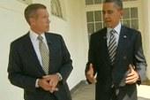 Obama speaks to NBC about economy, GOP