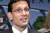 Cantor faces protestors