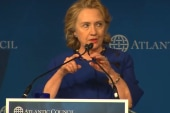 Speculation about Hillary Clinton's...