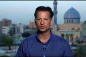 Engel: Security at 'every corner' in Baghdad